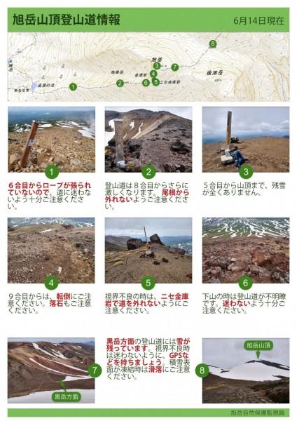 旭岳登山道情報